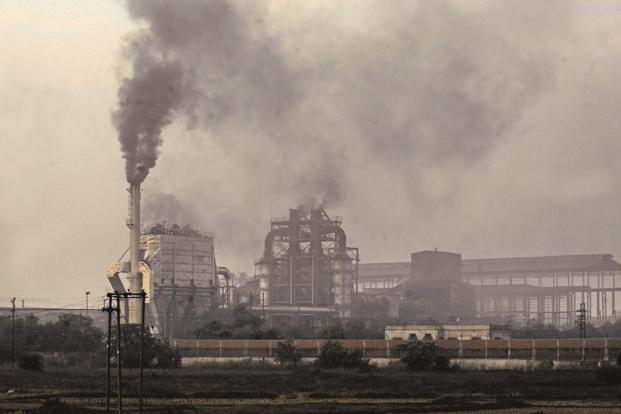 Over 90% of carbon emissions come from the burning of fossil fuels, production of cement, and the burning of oil and gas in industrial plants. Photo: Indranil Bhoumik/Mint